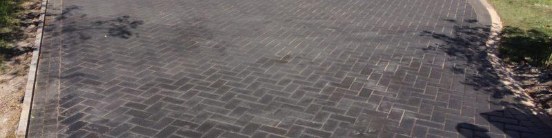Finished Driveway installation Bramhall 3