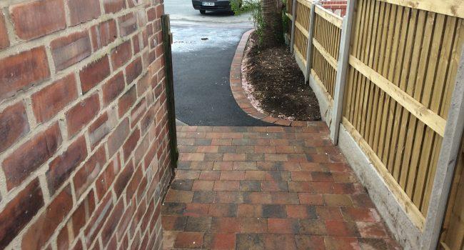 Path to driveway installation Bramhall